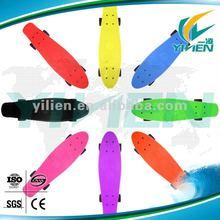 New 22 Inch CE/EN13613 plastic skateboard for sale/fish skateboard