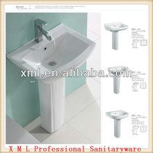 Marketable 3010 bathroom pestal wash sinks