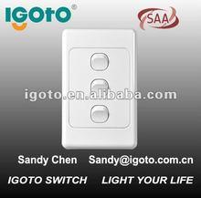 Australia double power socket australian wall socket australian electrical standard powerpoint australia type switch