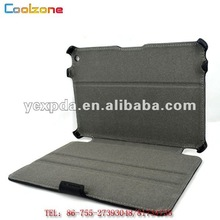 Newest thermal forming leather case for mini ipad, Leather tablet PC