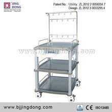 FDA/CE Hospital / Clinic Nursing Infusion Trolley / Cart