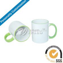 15oz Rim Handle Ceramic Sublimation Mug