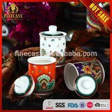 180CC Fine New Bone China Luxury Ceramic Storage Jar