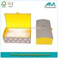 dongguan personalizado de lujo blanco nido de papel de regalo caja de pañuelos ropa de embalaje