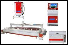 hydraulic water jet ground tile cutting machine
