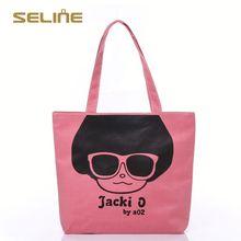 Fashion promotional canvas nappy bag