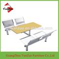 Ultimo fabbrica/mensa/scuola dinette tavolo da pranzo e una sedia