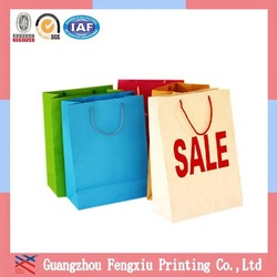Service Private Label Logo Advertising Tiny Paper Bags
