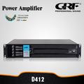 4ch 1250w alta profissional amplificador de áudio