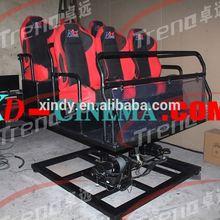 6 dof electric motion platform 5d cinema equipment