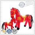 Cavalo de pelúcia/personalizado de pelúcia brinquedo animal/natal recheado cavalo de brinquedo