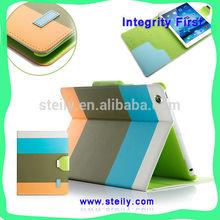 Modern Stylish For iPad air Case, Dormancy Leather Case For iPad air, PU Leather Stand Case For iPad air