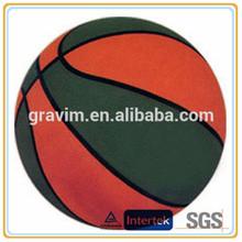 PVCcheap basketball ball standard size 7# green red laminated