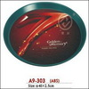 Plastic round and fashion advertise tray