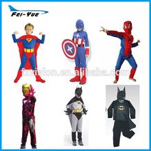 Halloween Polyester Superhero Costumes Kids Spiderman Costume