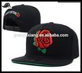 Personalizado tapa snapback/venta al por mayor nuevo complemento sombrero/6 snapback panel de la tapa con el logotipo bordado/sombrero barato