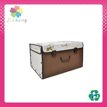 easy foldable non-woven storage box fabric container for home organization