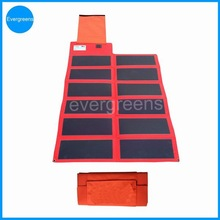 Hot sell 36W 18V amorphous cell folding and flexible solar panel for solar charger
