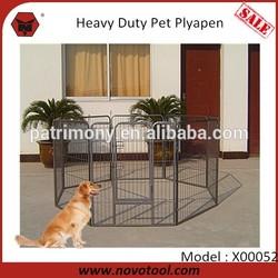 8 PCS Portable Dog Run Kennels Outdoor Dog Kennels Large Heavy Duty Dog Playpen Kennels