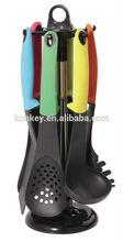 different shape nylon turner / nylon kitchen utensils / Kitchen spoon