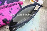 2015 cheap fashion custom polyester+eva bra bag