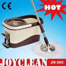 Joyclean Magic Microfiber Twist Mop with Spin Bucket(Catch Mop, Mop 360, Roto Mop)