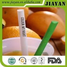 2015 newest china supplier custom printed drinking straw