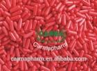 Red HPMC Empty Capsules, HPMC Vegetable Empty capsules, HPMC Vegetarian Empty capsules