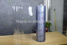 Transparent, Clear Plastic soft board/film, bulks rolls, manufacturer
