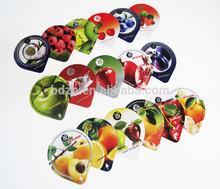 Aluminum material and food use aluminum foil lids