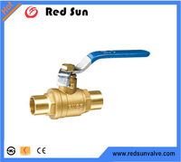 HR2050 manufacture brass forged copper pipe ball valve
