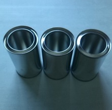 250ml single pressure lid cans,plain color, round shape