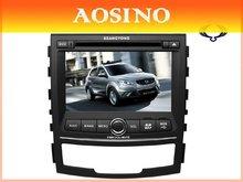 special double din SSANGYONG Korando Car DVD playe Car Radio audio with car Gps Navigation bluetooth RDS A2DP