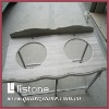 Chinese marble grey wood, grey color vanity top