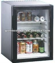 40L silence glass door mini absorption refrigerator