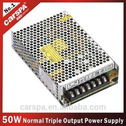 50W Triple output switching power supply (T-50W)