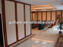 acoustic movable partition for auditorium