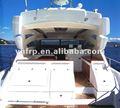 frp 14m de lujo yate de pesca con el hermoso diseño de interiores