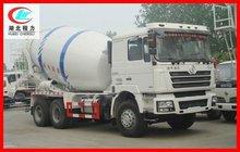 SHACMAN F3000 hyundai mixer truck, right hand drive concrete mixer, used concrete truck mixer for sale