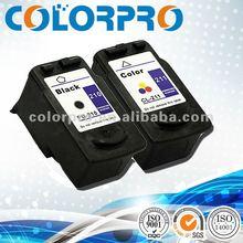 Compatible zhuhai inkjet cartridge CL-211 for Canon iP2702/MP240/270 printer