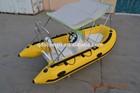 CE korea pvc 5 persons inflatable rib boats