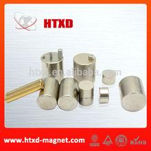 High Performance Cylinder Neodymium Magnet cylinder type magnet
