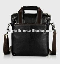 High Quality PU Leather Briefcase Men Messenger Bag