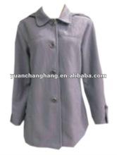 2012 lady's winter leisure polyester fake wool fashion jacket