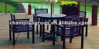 outdoor teak wood set,garden table set,solid wood furniture