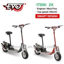 EVO 49cc 2 stroke gasoline engine scooter sales limited edition