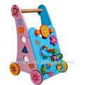De moda los niños juguete de madera educativo/multi- función bebé cochecito