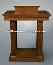 CP-002,Wooden Church Pulpit /Oak pulpit /wood church pulpit