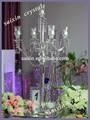 Casamento candelabros de cristal, castiçal de cristal na venda