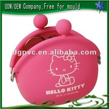 Hot Sell hello kitty wallets and purses,Scented Silicone bag
